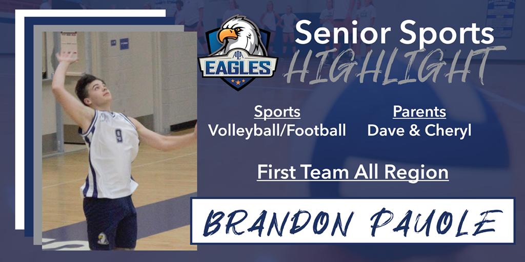 Senior Spotlight – Brandon Pauole