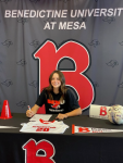 Madison Wells signs with BenU Mesa