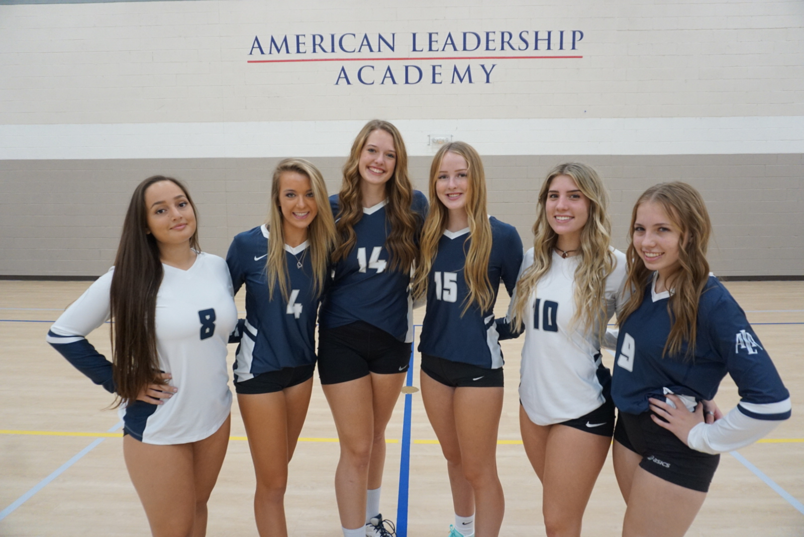 Varsity Volleyball sweeps Yuma Catholic in home opener