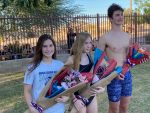 Senior Swimmers honored at last meet
