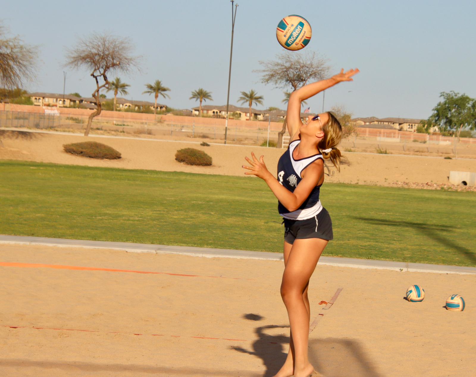 Sand Volleyball moves to 3-0
