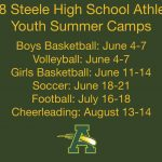 2018 Comet Athletics Youth Summer Camps