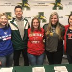 National Signing Day for 5 Comet Athletes