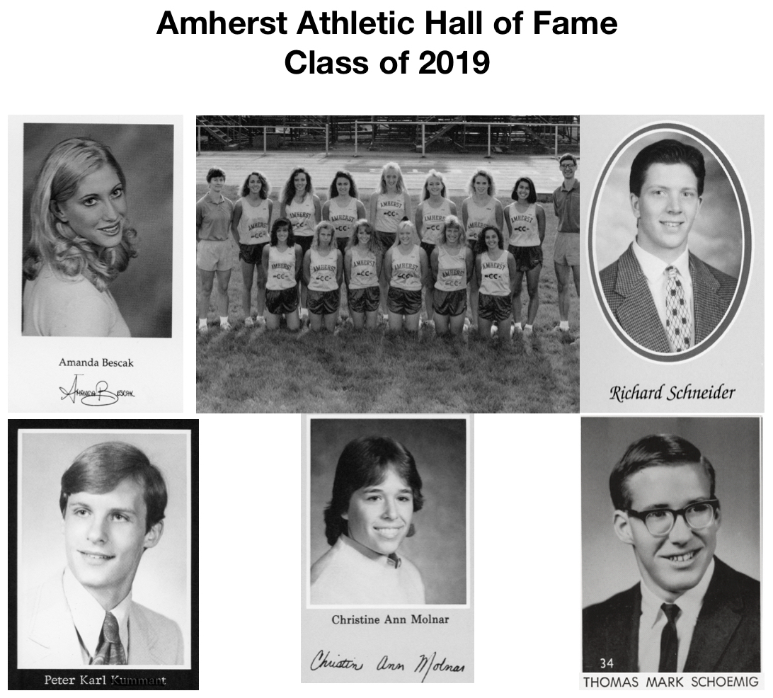 Amherst Athletic Hall of Fame Induction Ceremony Reservations are Available