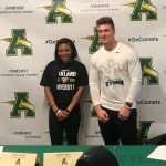 Two Student-Athletes Sign National Letters of Intent