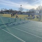Varsity Track finishes 1st place vs. Midview High School
