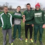Boys Varsity Track finishes 1st place at Olmsted Falls High School
