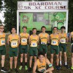 Kirsch Leads Boys Varsity Cross Country at Boardman Spartan Invitational