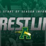 Wrestling Season Information (@AmherstWrestlin)