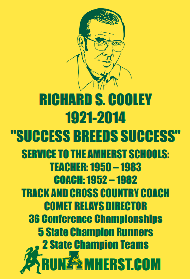 Over 300 Amherst Runners Honor Late Amherst Coach Richard S. Cooley