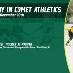 Sunday, December 29th in Comet Athletics