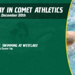 Monday, December 30th in Comet Athletics