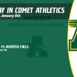 Monday, January 6th in Comet Athletics