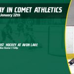 Sunday, January 12th in Comet Athletics