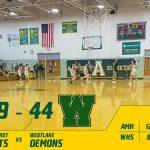 Girls Varsity Basketball falls to Westlake 44 – 39