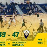 Girls Varsity Basketball beats North Ridgeville 49 – 47