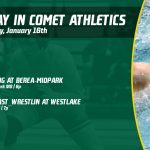 Thursday, January 16th in Comet Athletics