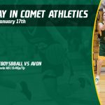 Friday, January 17th In Comet Athletics