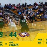 Girls Varsity Basketball falls to Avon 44 – 38