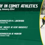 Thursday, January 23rd in Comet Athletics