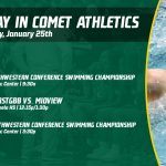Saturday, January 25th in Comet Athletics