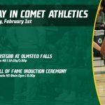 Saturday, February 1st in Comet Athletics