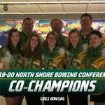Amherst Girls Varsity bowling defeated  Open Door 1919 to 1493