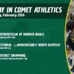 Saturday, February 15th in Comet Athletics
