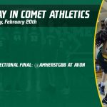 Thursday, February 20th in Comet Athletics