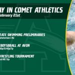 Friday, February 21st in Comet Athletics
