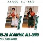Christian Pfeiffer & Amaya Staton Named Academic All-Ohio