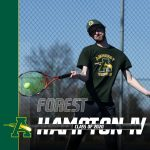 Spring Senior Spotlight is on Boys Tennis' Forest Hampton IV