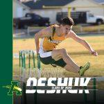 Spring Senior Spotlight is on @trackcomets Dominic Deshuk