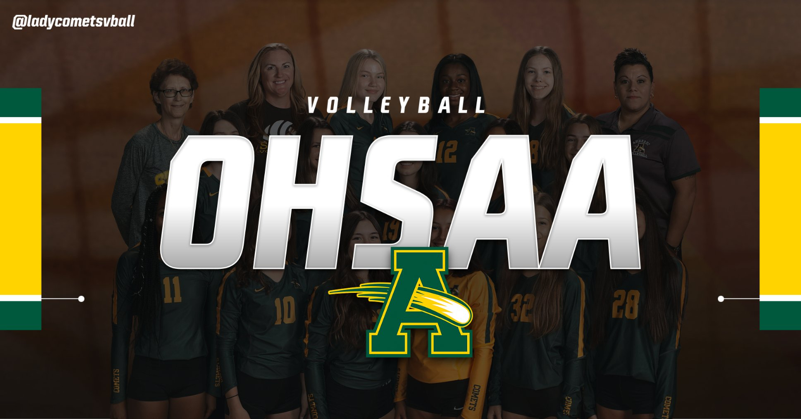 OHSAA Postseason Information for @ladycometsvball