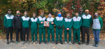 Boys Varsity Cross Country finishes 2nd place at OHSAA District Championships