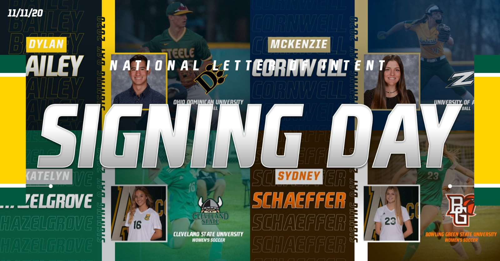 Four Comets Sign National Letters of Intent