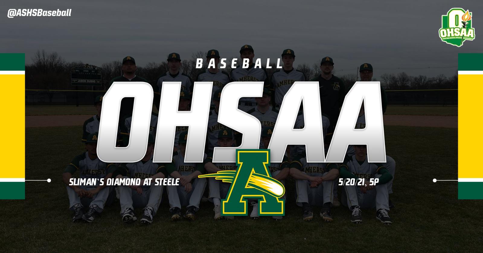 @ASHSBaseball Opens OHSAA Play on 5/20/21