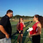 Girls Tennis falls to Pine City 6-1