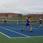 Girls tennis beats Big Lake, 5-2