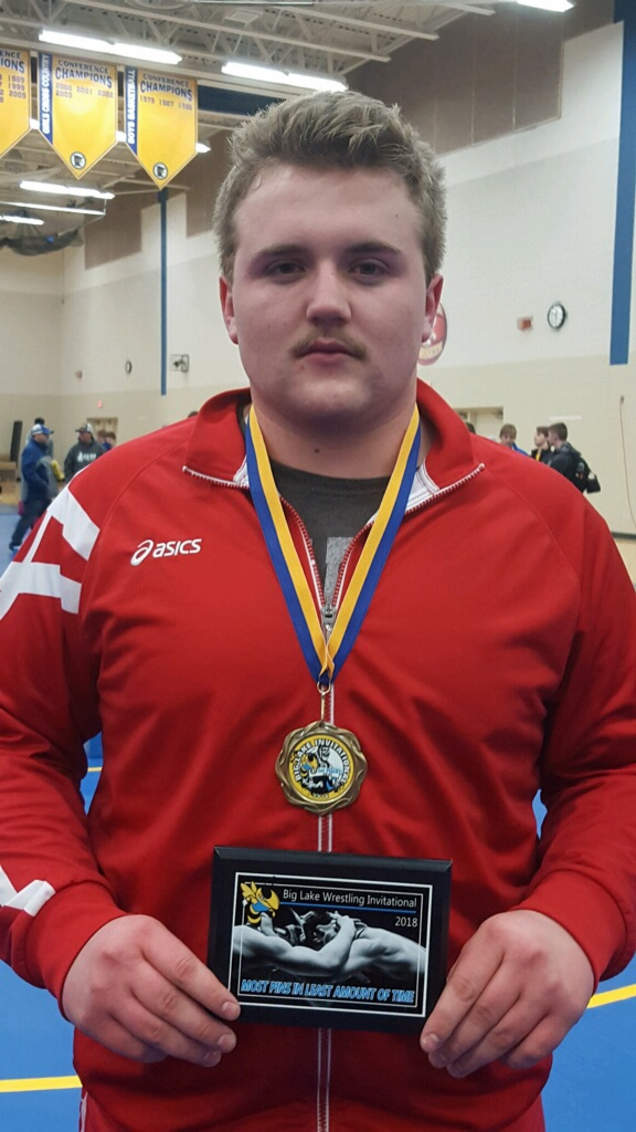 Brandon Swanson (9-0) placed 1st and Won the Most Pins Award!