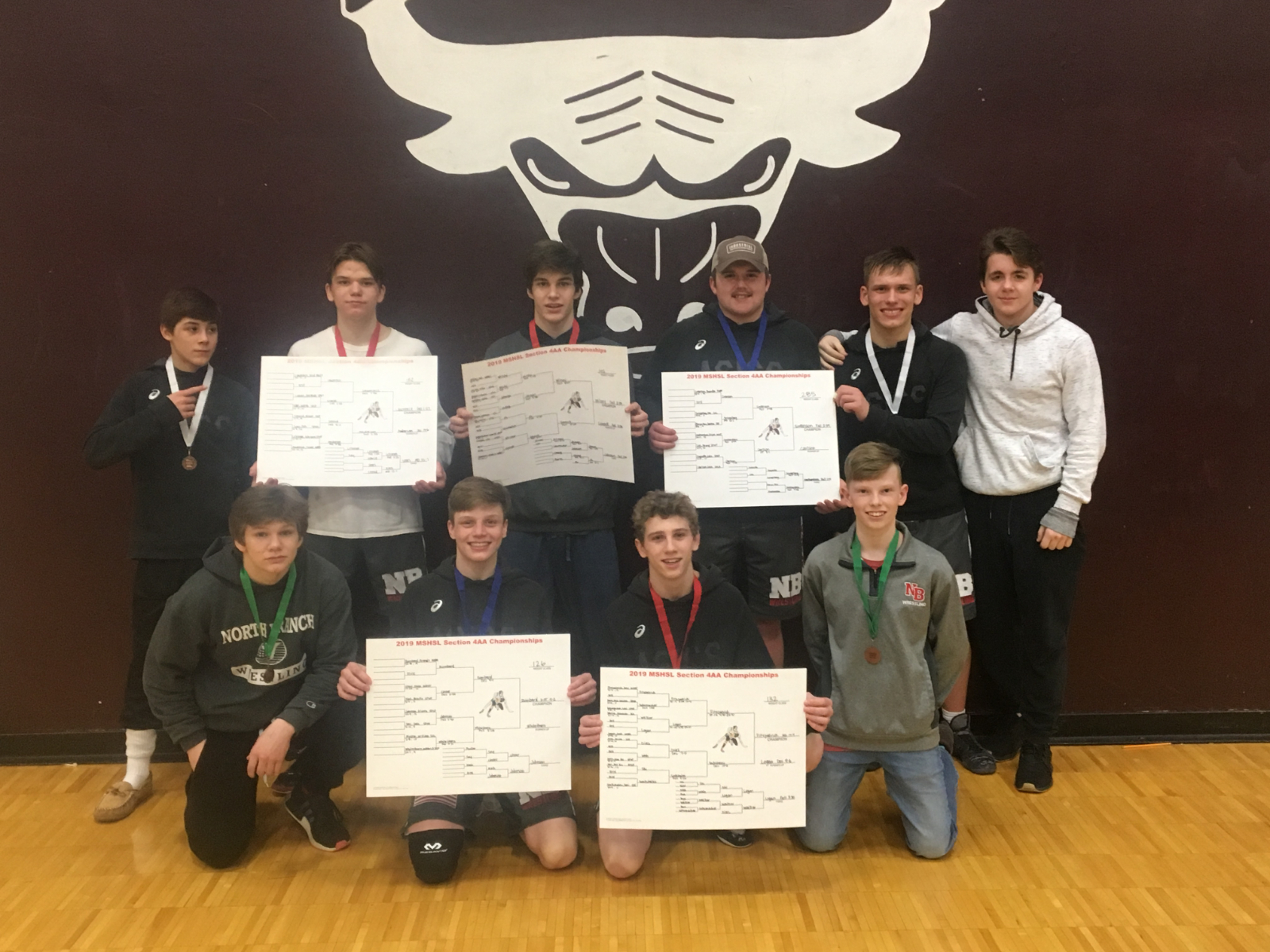 5 North Branch Wrestlers Headed to State!
