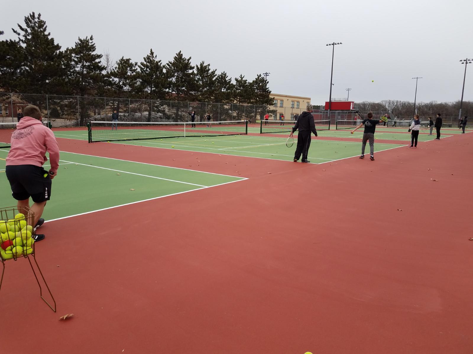 Viking Tennis has a new home.
