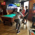 Some team bonding at Grandma's in Duluth