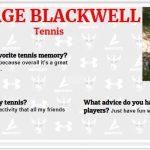 Senior Spotlight – George Blackwell