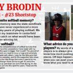 Senior Spotlight – Macy Brodin