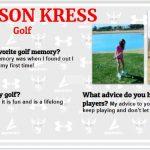 Senior Spotlight – Allison Kress