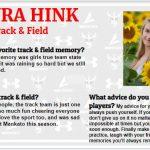 Senior Spotlight – Laura Hink