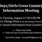 Cross Country Meeting