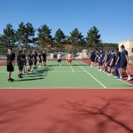 Boys tennis loses to St. Francis, 2-5