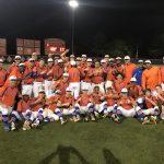 Boys Varsity Baseball beats Brookwood 9 – 6
